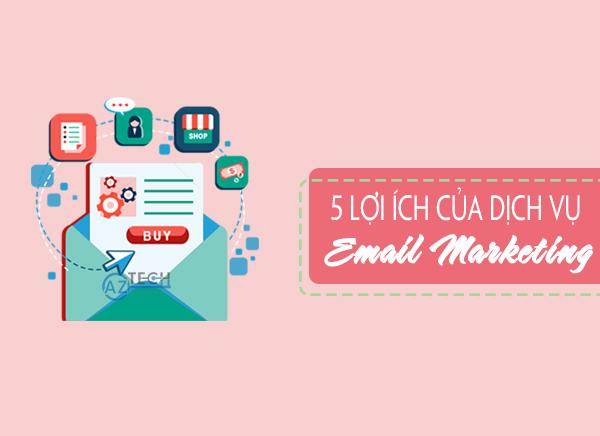 bảng báo giá dịch vụ gửi email marketing