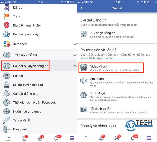 cách đăng video lên facebook không bị mờ