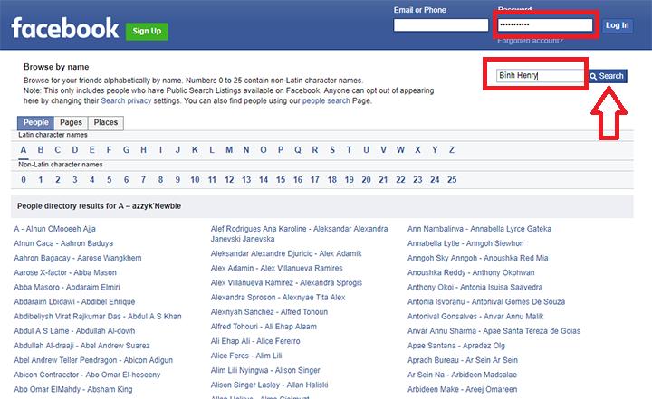dang nhap facebook trang cá nhân