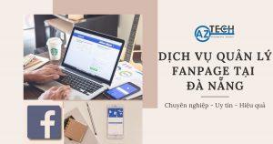 dịch vụ quản trị fanpage đà nẵng