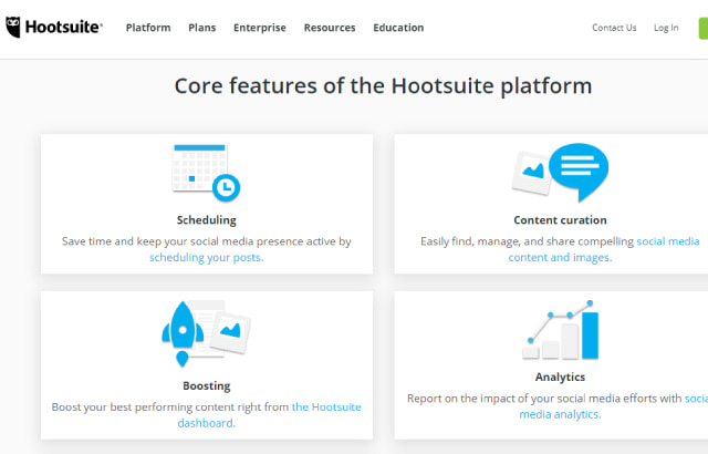 Hootsuite - Công cụ quản lý fanpage