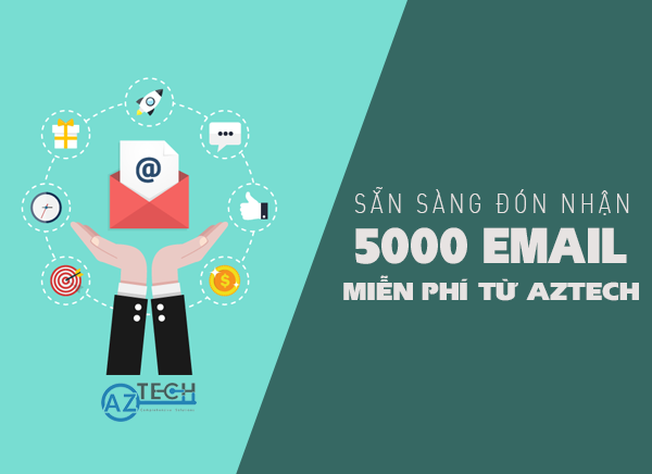 chương trình khuyến mãi tặng 5000 email marketing cho doanh nghiệp
