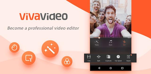 Làm video trên điện thoại với VivaVideo