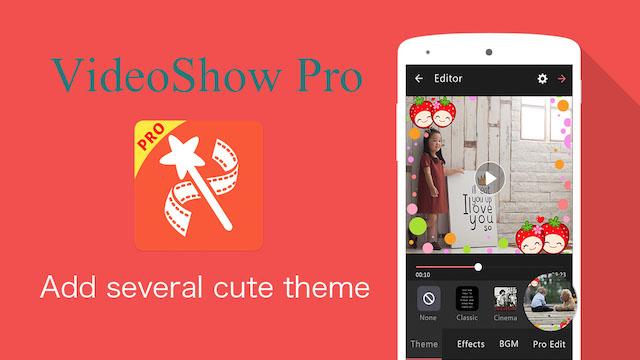 Làm video trên điện thoại với VideoShow