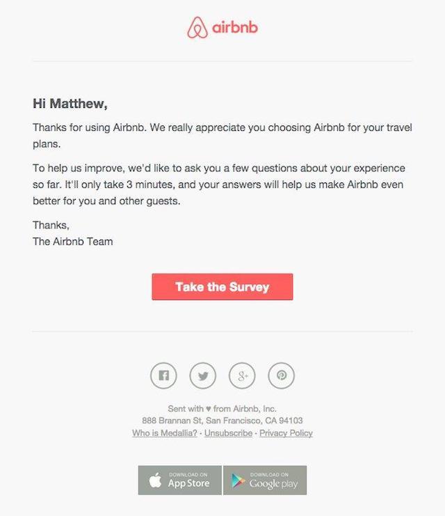 Mẫu email marketing đơn giản