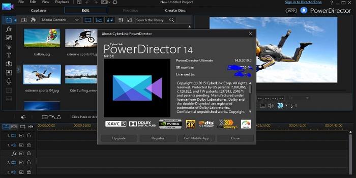 phần mềm chỉnh sửa video miễn phí cyberlink
