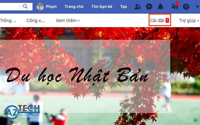 Xoá trang fanpage