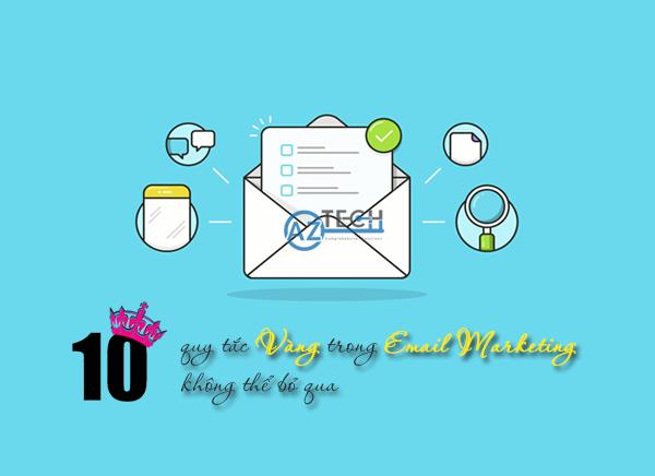 10 quy tắc vàng trong Email Marketing không thể bỏ qua