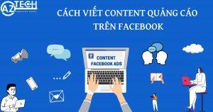 cách viết content quảng cáo trên facebook