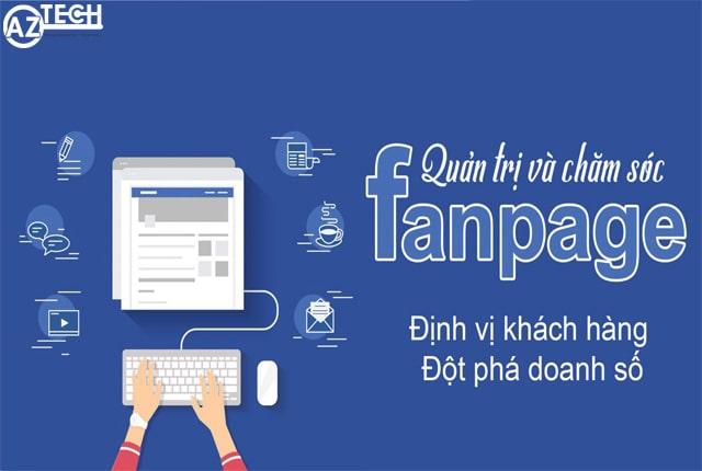 Dịch vụ quản lý chăm sóc Fanpage tại Đà Nẵng của Aztech