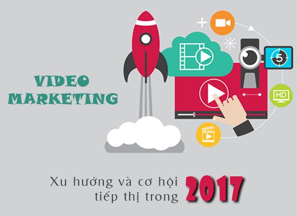 xu hướng tiếp thị 2017 - Video marketing