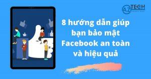 bảo mật facebook an toàn