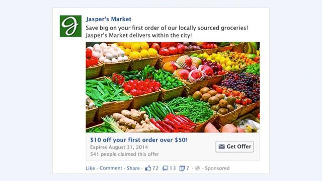 các hình thức quảng cáo trên facebook