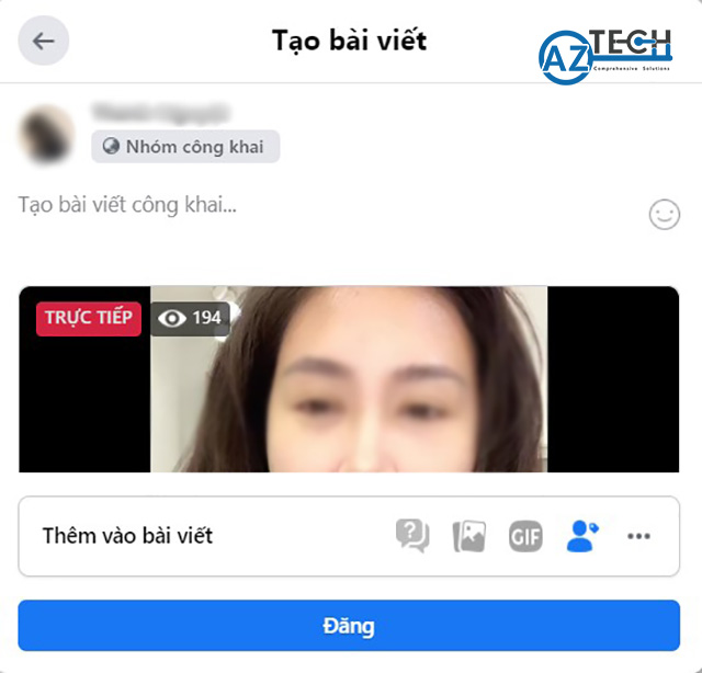 chia sẻ livestream