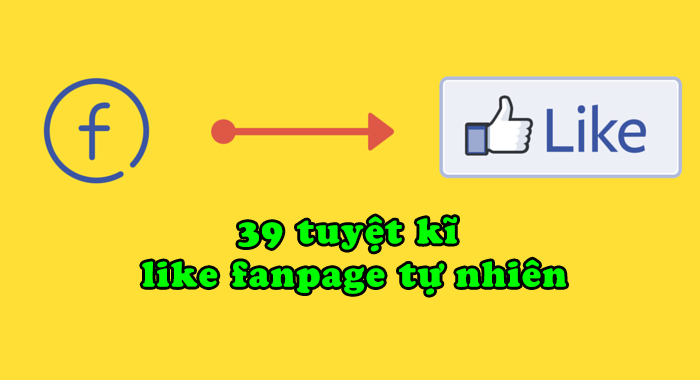 hướng dẫn cách tăng like fanpage trên facebook
