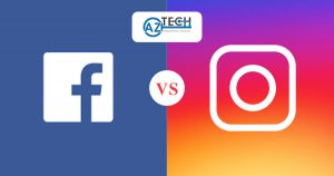 instagram và facebook
