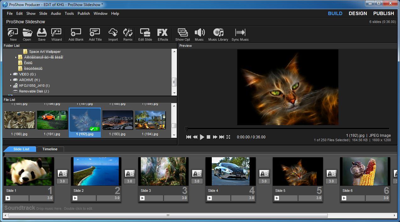 phần mềm chỉnh sửa làm video chuyên nghiệp proshow