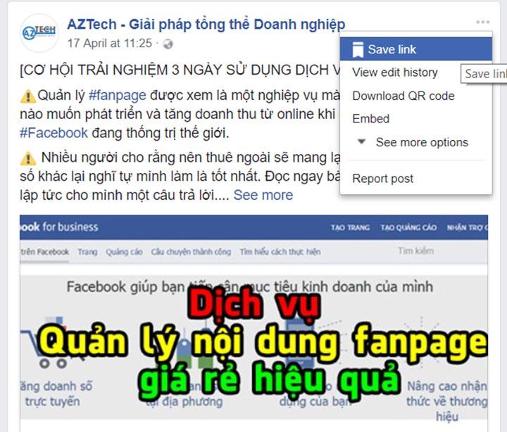 cách quản lý fanpage facebook hiệu quả