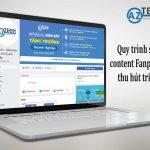 Quy trình sáng tạo Content Fanpage thành công với nhiều dự án