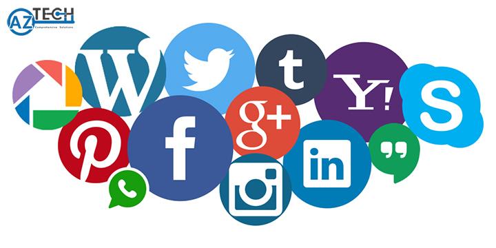 các trang mạng xã hội liên kết trong quá trình quản trị nội dung