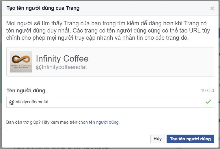 tạo một trang fanpage trên facebook
