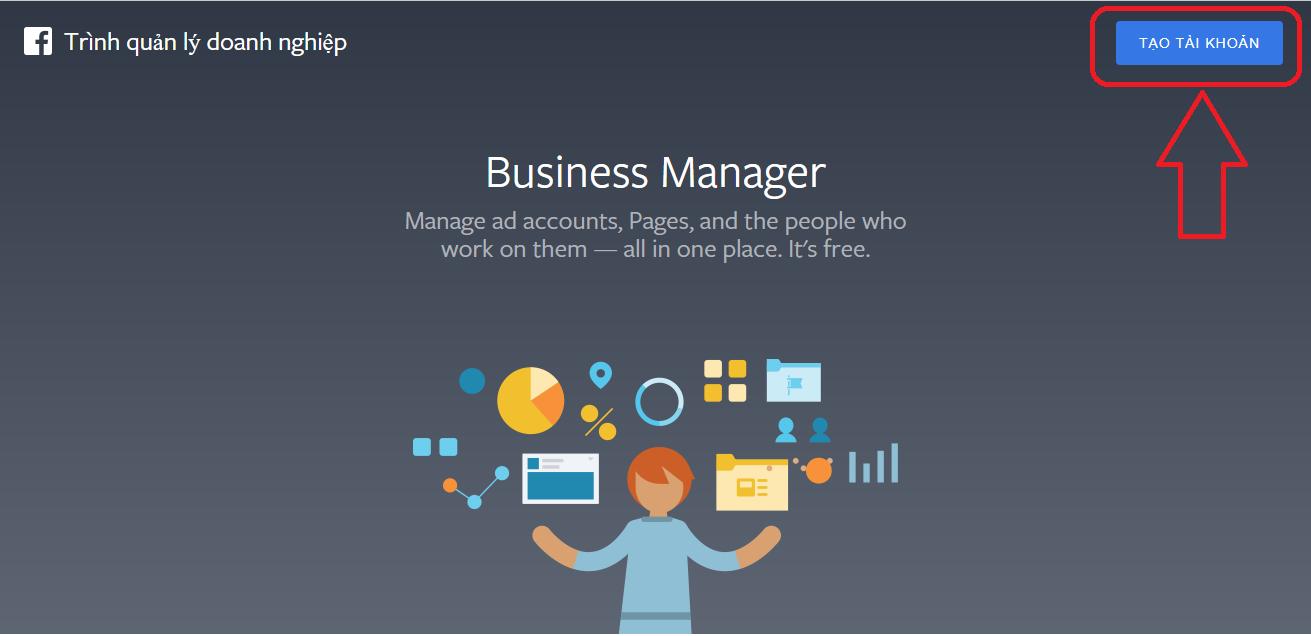 facebook business trình tạo tài khoản doanh nghiệp